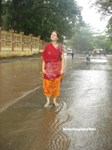 Monsoon in Bodhgaya